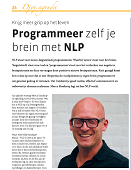 Interview Djoj met Marco Honkoop over NLP