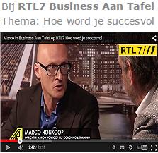 Marco op RTL7 Hoe word je succesvol